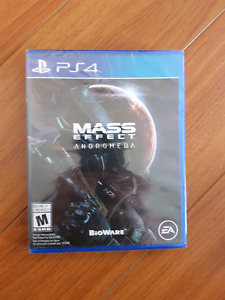 Mass effect andromeda pour ps4 brand new