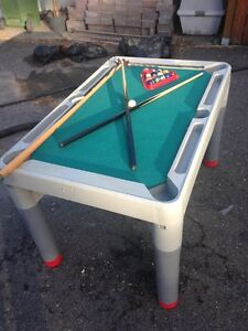 Mini Pool Table and Accessories