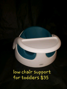 Low seat for toddlers