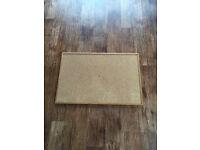 Cork message / memo / pin board 600 X 900mm