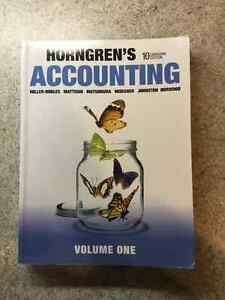 Horngren's Accounting - 10th Canadian Edition