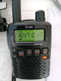 ICOM IC-R5 RADIO SCANNER Airband Taxis Services Etc Reciever Del./Postage Available