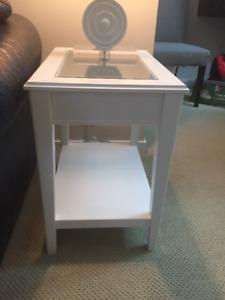 IKEA Glasstop Side Table