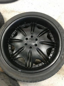 """24"""" Dub Edition Wheels and Tires"""