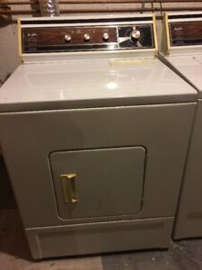 one dryer and one dish washer, $100