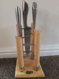Kitchen knife block holder - Knives NOT included.