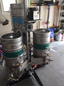 Blichmann Top Tier with Tower of power - Gas fired RIMS Brewing