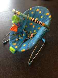 Baby play mat & Vibrating chair with music