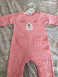 NWT Carter's infant girl outfit
