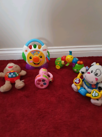 Baby toys fisher price, vtech etc, batteries included