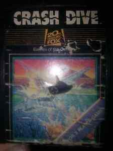 Rare Atari 2600 Crash Dive by 20th Century Fox