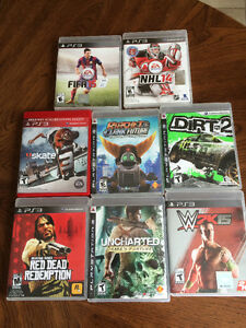 PS3 video games $10 each