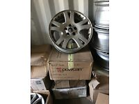 "19"" Land Range Rover alloy wheels Alloys Rims Vw Volkswagen Transporter T5 T6 5x120"