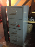 Fire-proof filing cabinet safe