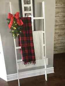 Holiday / Christmas Decor -- Rustic Blanket Ladder London Ontario image 5