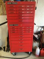 Gray Series Top Chest & Roller Cabinet Tool Box