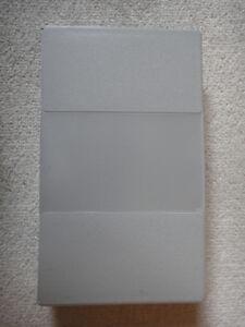 VHS cassette storage case