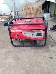 2500w Honda Generator