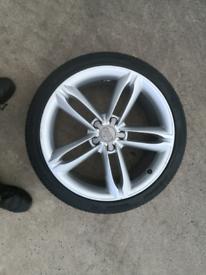 """19"""" Audi Alloy wheel a4 a5 a6 5x112"""
