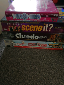 Board games, only Mr and Mrs game and speak out game left