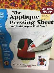 Appliqué Pressing sheet and Multiple craft sheet