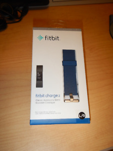Fitbit Charge 2  Blue Band (LG) brand new