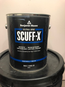 SCUFF-X by Benjamin Moore, Eggshell Finish Paint