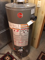 Same day water heater replacements!