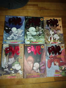 6 bone books 10$ for all of them