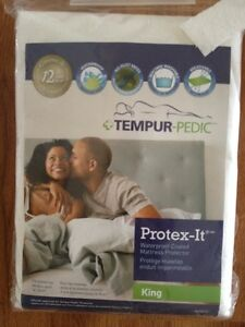 Tempur-Pedic Protex-It Waterproof Coated Mattress Protector