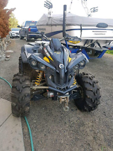 2 can am renegades 800cc 4x4