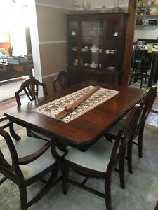Vintage Antique Duncan Phyfe Dining Room Set