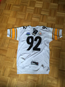 Pittsburgh Steelers James Harrison Super Bowl 43 Stitched NEW