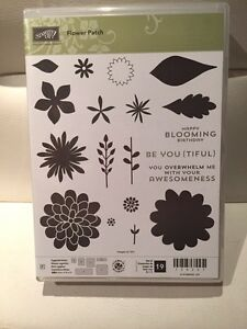 Stampin Up!  - Flower Patch (NEW)