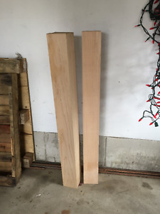 Solid Maple Posts