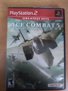 "Ace Combat 5 ""The Unsung War"" for Play station 2"