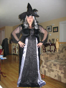 3X Plus Size  Witch's Costume with accessories
