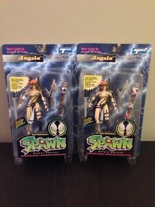 Angela and Vampire Vintage Spawn Todd McFarlane Action Figures