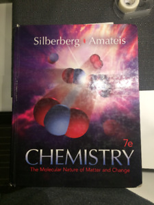 Silberberg Amateis Chemistry Textbook + Student Solutions Manual
