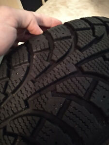 Four Hancook RSV ipike Winter tires 205/65R15 like new condition
