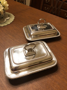 Silverplate Covered Dishes