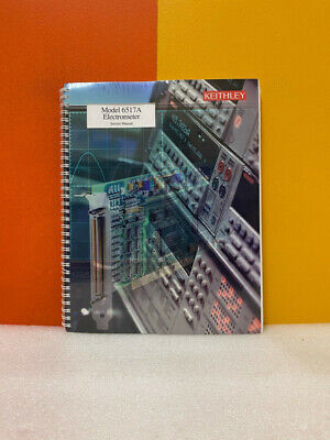 Keithley 6517a-902-01b Model 6517a Electrometer Service Manual