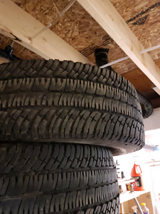 275 65 20 Michelin  tires