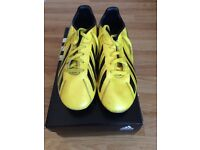 Adidas F10 Moulded Football Boots Size 5.5 uk