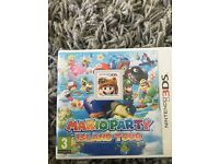Mario party and mario 3D land