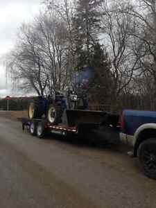 Vehicle & Equipment Towing with Dodge Ram and 20' Car Hauler