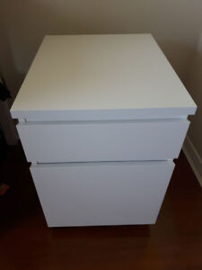 3 File Cabinets with Castors