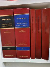 BPTC/ LPC LAW BOOKS FOR SALE