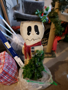 Free Wooden Christmas Decorations