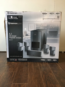 KameronAudio 5.1 HD Home Theater System – Brand New!